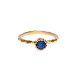 Lover Circle Crystal Ring