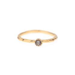 Lover Mini Circle Crystal Ring