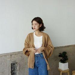 박시 가디건 (2color)