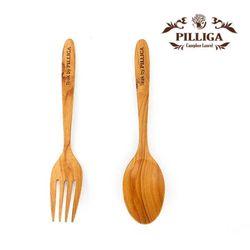 [수크포] 티크바이 필리가 포크세트 Spoon&Fork
