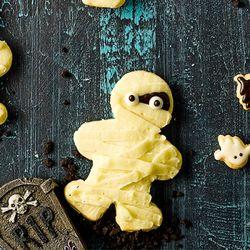 할로윈 미이라 유령 쿠키 만들기 - 홈베이킹