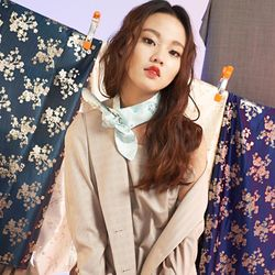 The Lover checked pattern jacket