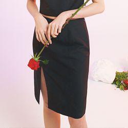 chinese black skirt