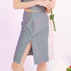 chinese gray skirt