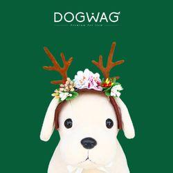강아지 고양이 생일왕관모자 꼬깔모자 꽃사슴 머리띠