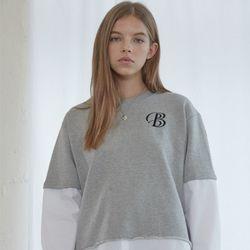 Grey Combi Sweat Shirts