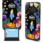 갤럭시노트8 디즈니 앨리스 카드슬롯 -앨리스와 꽃