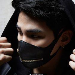 [LeMASKA] Starlord_zipper - BLACK