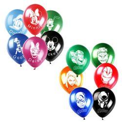 디즈니마블 캐릭터풍선(6개입)
