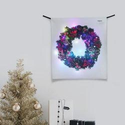 LED 패브릭 액자 벽트리 (S 58x66cm)