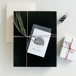 크리스마스 카드 White Christmas