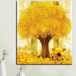 황금나무 액자