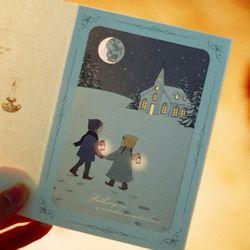 DEARMOMENT CARD 크리스마스 카드 woderland
