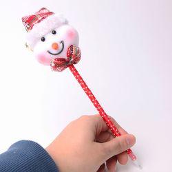크리스마스 눈사람인형 볼펜