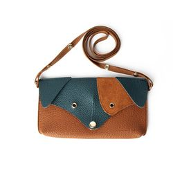 Ji Won Dachshund Mini Bag Brown