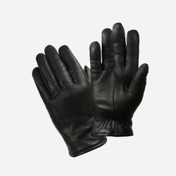 COLD WEATHER LEATHER POLICE GLOVE