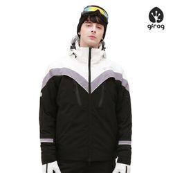[지프로그] 클라우드 스키 보드복 자켓 BKWH 공용