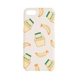 이태리숍 아이폰7/8 하드케이스 - 바나나우유