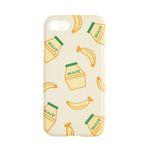 이태리숍 아이폰7/8 범퍼케이스 - 바나나우유