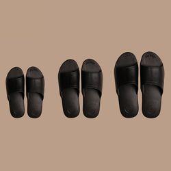 아동 슬리퍼 THE PLASTIC SHOES - KIDS [BLACK]