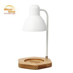 플루토5MW 빛조절 캔들워머 - 화이트 애쉬원목