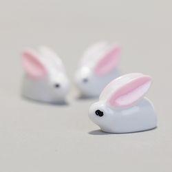 테라리움 토끼 미니어처 3P