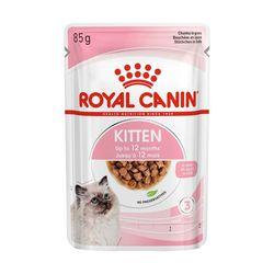 로얄캐닌 캣 파우치 키튼 85g 12개고양이습식사료