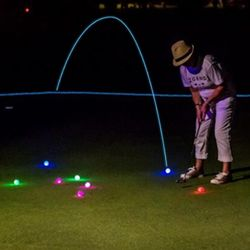 led 골프공