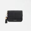 Dijon N301R Round Card Wallet black