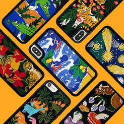 Embroidery Case (아이폰 위글위글 자수폰케이스)