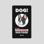 [어프어프][보조배터리]French bulldog-black-5000mah
