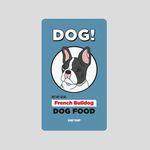 [어프어프][보조배터리]Frenchbulldog-skyblue5000mah