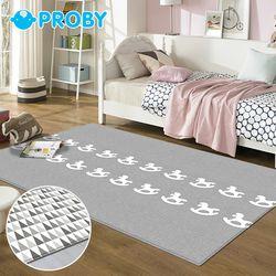 15T 패브릭 놀이방매트 목마 마운틴 230x150x1.5cm