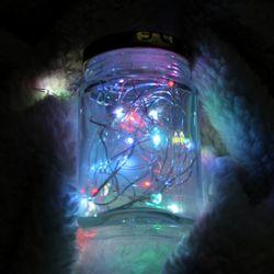 LED 건전지 와이어전구 4M (인테리어무드등트리조명)