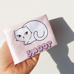 러블리 핑크 고양이 안경닦이