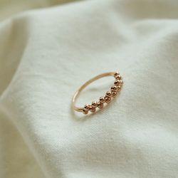 14k gold grape ring