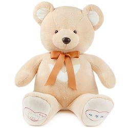 영아트 뉴 반달곰 인형-베이지(왕 120cm)