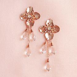 Daisy Flower Drop Earrings
