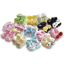 아기 보행기 신발 스타일의 양말 18종(24개월)