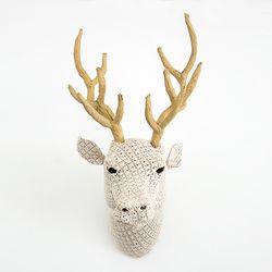[오리고] 헌팅 트로피 크로쉐 사슴