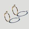 Gold Daily Ring Earring 골드 데일리 이어링