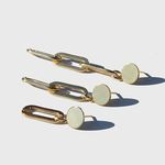 Gold Bold Chain Earring Set 골드체인이어링3세트