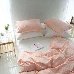 자연염색60수 핑크 피그먼트 침구 싱글세트