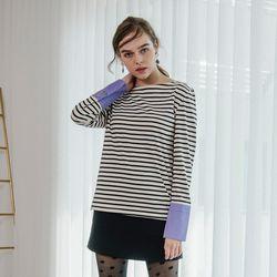 Stripe Cuffs T (Black)