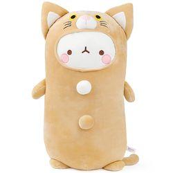 몰랑 소프트 모찌 애착 바디쿠션-고양이(55cm)