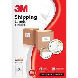 3M 일반형 물류관리용 라벨 (213088칸100매)