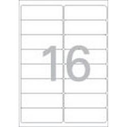 주소용 라벨(LQ-310720매16칸폼텍)