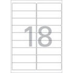 주소용 라벨(LQ-310920매18칸폼텍)