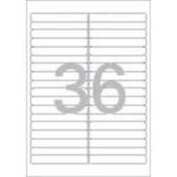 화일인덱스용 라벨(LQ-362120매36칸폼텍)