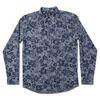그린바나나 Flower Blue Shirts